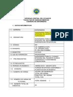 Silabo 2019-2019 Octavo Enfermeria
