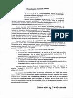 Carta de Médicos Del Hospital.