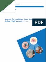 Aadhaar study material