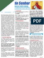 Folheto 34 Domingo Tempo Comum