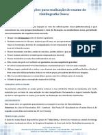 Orientações Para Realização Do Exame de Cintilografia Óssea PDF 59