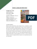 Analisis de La Obra Rios Profundos