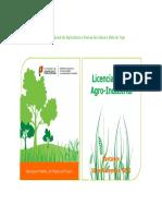 Licenciamento agro-industrial