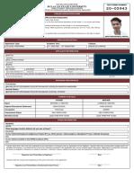 Mike Christopher Barra Santos - Application Form