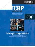 Parking Pricing and Fees