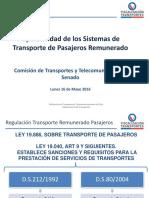 Sistema de transporte privado remunerado