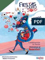 Agenda Fiestas de Quito 2019