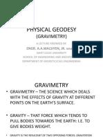 Physical Geodesy100