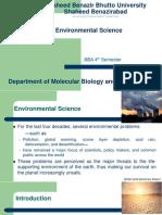 Envi. Science Lec-01