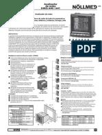 DIRIS A40 A41 Analizador de Redes SOCOMEC