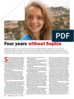 FOUR YEARS WITHOUT SOPHIA
