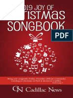 Joys of Christmas Songbook 2019