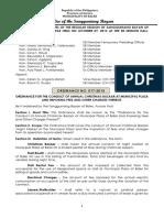 Lgu-baler Ordinance No 017-2013