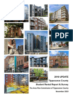 2019 Student Rental Report and Survey