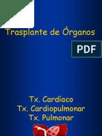 Trasplante de Órganos (clase).ppt
