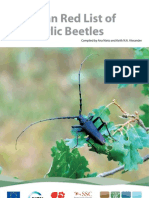 European Red List of Saproxylic Beetles New