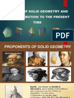 history of solid geometry