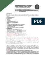 Pratica-Solubilidade dos Compostos Organicos-1