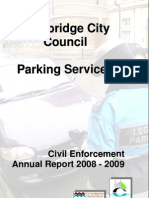 Cambridge Civil Enforcement Annual Report 2008/2009