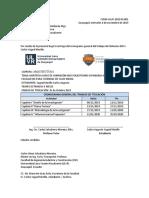 Oficio de Entrega de Cronograma Yagual 2019-2