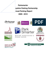 Derbyshire 2009-10 FINAL Park Smarter Annual Report