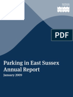 East Sussex Parking Annual Report Jan09
