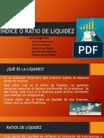 Índice o Ratio de Liquidez
