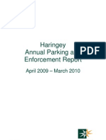 LB Haringay Parking Annual Report
