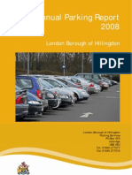 LB Hillingdon Annual Parking Report - LBH 2008
