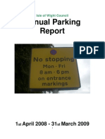 Isle of Wight Parking-Annual-Report