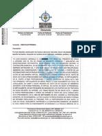 Denuncia penal Procuraduría Metrolínea