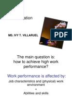 REPORT MOTIVATION villaruel.ppt