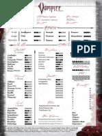 Casimiro Character Sheet