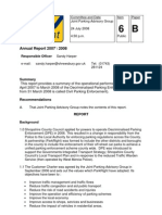 Shrewsbury ParkRight Annual Report 2007-2008
