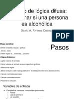 Ejercicio logica difusa Persona alchoholica