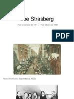 LEE STRASBERG - EL MÉTODO (1)