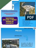 Ppt Geotecnia en Presas