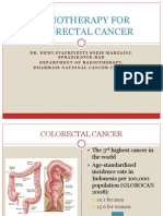 Radiotherapy For Colorectal Cancer