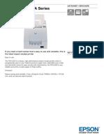 Epson TM U220A Series Datasheet