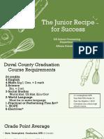 Junior Recipe for Success