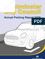 LB Westminster Parking Annual Report 08 09