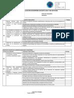 Pauta de Evaluación Semestral Docente