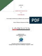 LOGISTICS REPORT ONDTDC