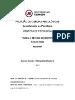 Guía de estudio bibliografía obligatoria 2019