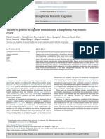 The Role of Genetics in Cognitive Remediation in Sc 2019 Schizophrenia Resea