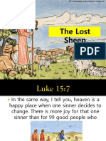 The Lost Sheep - Pop Up Parable by Dsp