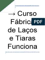 → Curso Fábrica de Laços e Tiaras Funciona