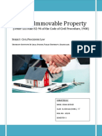 Cpc Project- Sale of Immovable Property