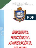 Exposicion de Proteccion Civil y Adm. Desastre