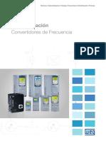 WEG Convertidores de Frecuencia Serie Cfw Catalogo Espanol